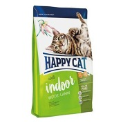 Happy Cat Supr.Indoor Fit&Well Weide-Lamm 10kg