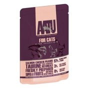 AATU Cat Salmon n Chicken n Prawn kaps. 85g