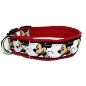 Obojek Dinofashion  softshell Mickey