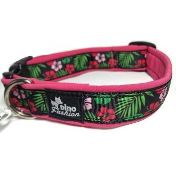 Obojek Softshell Hawaii pink