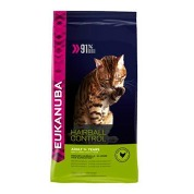 Eukanuba Cat Adult Hairball Control Chicken 4kg
