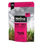 Nativia Real Meat Beef&Rice 8kg