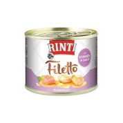 Rinti Dog Filetto konzerva kuře+šunka ve šťávě 210g