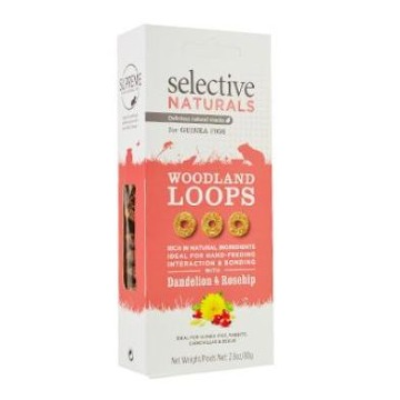 Supreme Selective snack Naturals Woodland Loops 60g